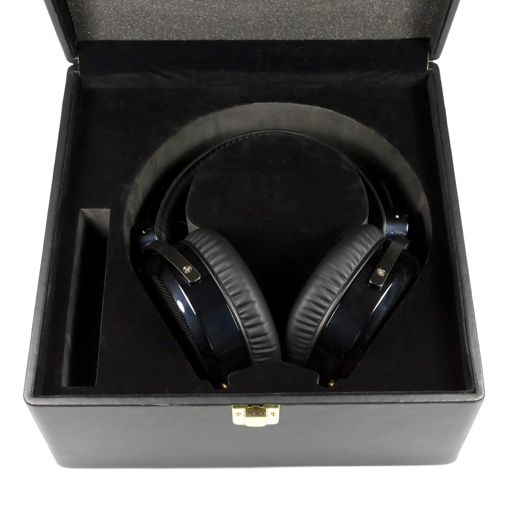 HiFiMan HE-6 Headphones in Leather Box
