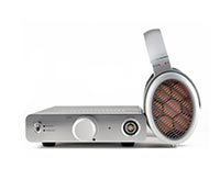 Sonoma electrostatic headphones and amp image